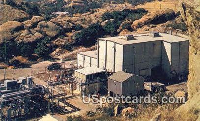 Sodium Reactor Experiment - Los Angeles, California CA Postcard