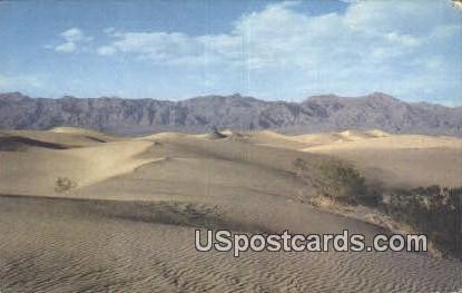 Death Valley, CA Postcard       ;       Death Valley, California