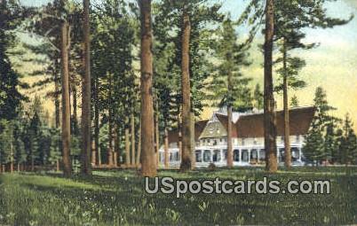 Hotel Tallac - Lake Tahoe, California CA Postcard