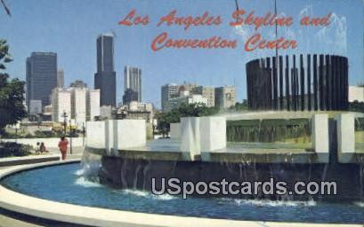 Convention Center - Los Angeles, California CA Postcard