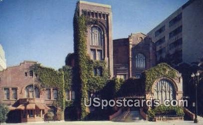 Third Church of Christ Scientist & Reading Room - Los Angeles, California CA Postcard