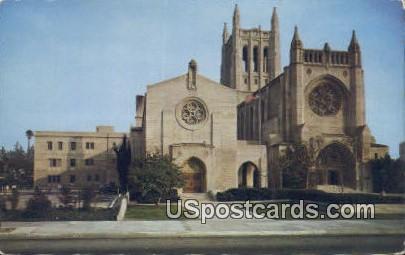 First Congregational Church of Los Angeles - California CA Postcard