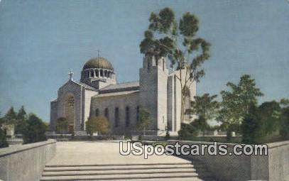 Saint Sophia Cathedral - Los Angeles, California CA Postcard