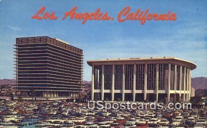Pavilion - Los Angeles, California CA Postcard