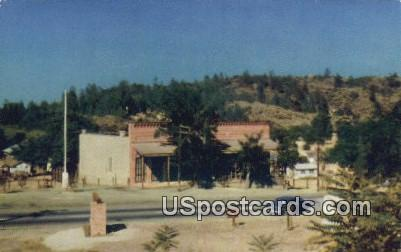 Old Shasta Count Court House - California CA Postcard