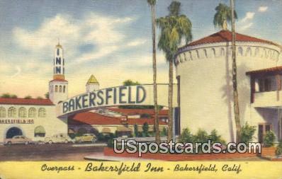 Bakersfield Inn - California CA Postcard
