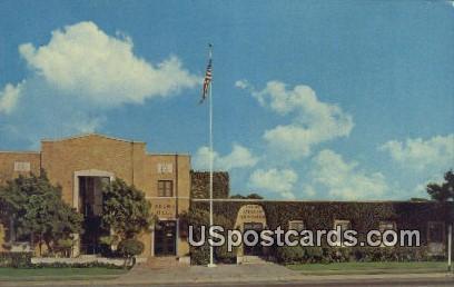Helms Hall & Athletic Foundation - Los Angeles, California CA Postcard