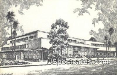 Bullock's - Pasadena, California CA Postcard