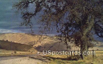 Ridge Route - Los Angeles, California CA Postcard