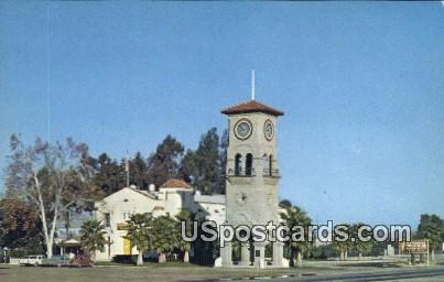 Sern County Museum - Bakersfield, California CA Postcard