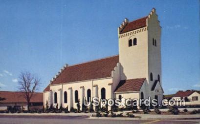 Bethenia Lutheran Church - Solvang, California CA Postcard