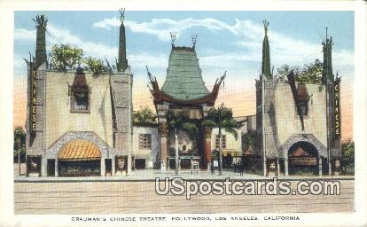 Grauman's Chinese Theatre - Los Angeles, California CA Postcard