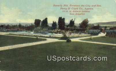 Beverly Hills - Los Angeles, California CA Postcard
