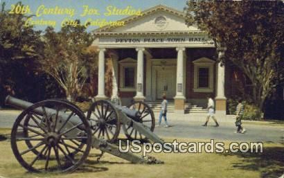 20th Century Fox Studios - Century City, California CA Postcard