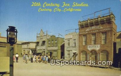20th Century Fox Studios - Century City, California CA Postcard