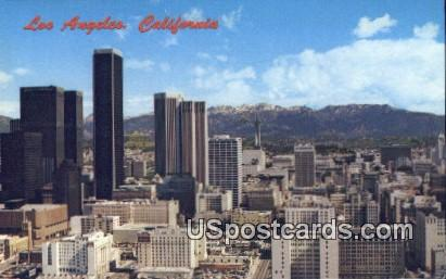 San Gabriel Mountains - Los Angeles, California CA Postcard