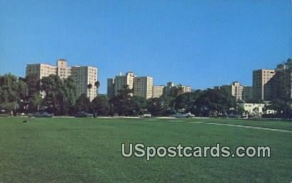 Park La Brea Towers - Los Angeles, California CA Postcard