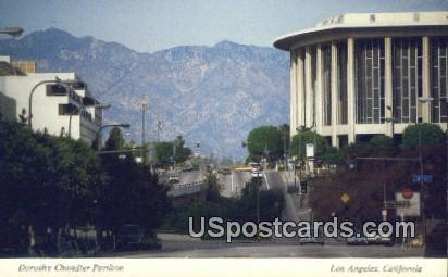 Dorothy Chandler Pavilion - Los Angeles, California CA Postcard