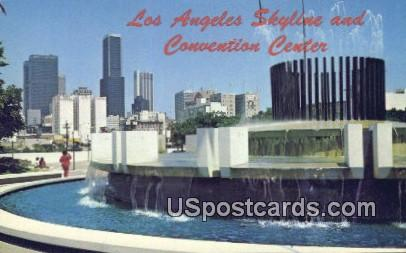 Convention Center - Los Angeles, California CA Postcard