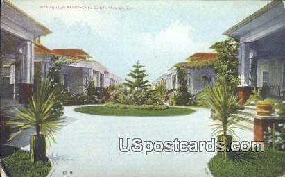 Kensington Apartments - Santa Monica, California CA Postcard