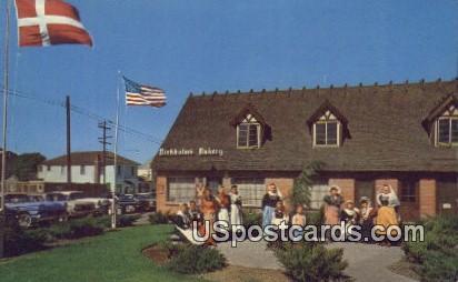 Solvang Girls - California CA Postcard