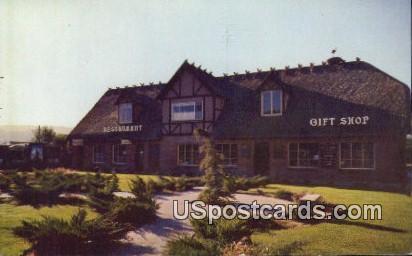 The Little Mermaid Restaurant - Solvang, California CA Postcard