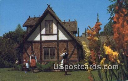 Quaint - Solvang, California CA Postcard