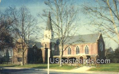 Morris Chapel, College of the Pacific - Stockton, California CA Postcard