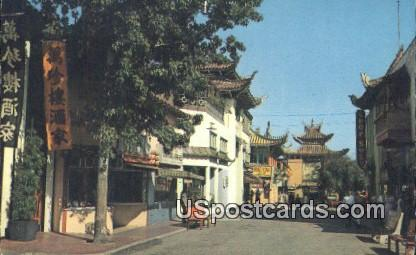 New Chinatown - Los Angeles, California CA Postcard