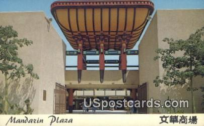 Mandazin Plaza - Los Angeles, California CA Postcard