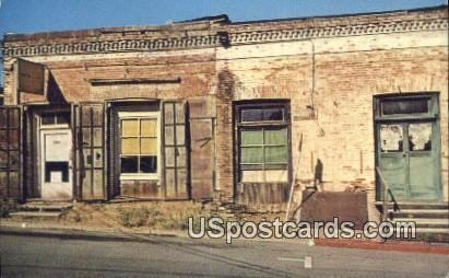 Chinatown - Sonora, California CA Postcard