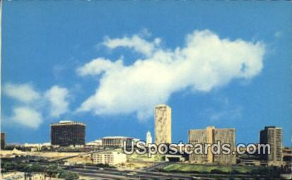 Bunker Hill - Los Angeles, California CA Postcard