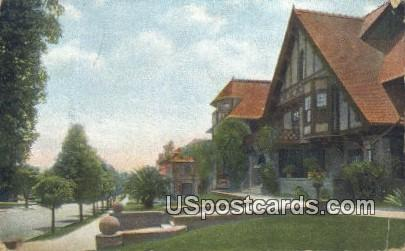 Bonnie Brae - Los Angeles, California CA Postcard