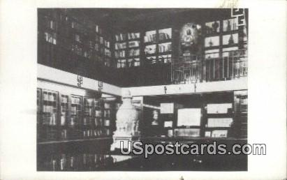 Section of Library - Los Angeles, California CA Postcard
