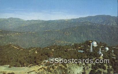 Mt. Wilson, CA Postcard       ;       Mt. Wilson, California