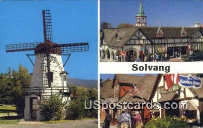 Solvang, CA Postcard       ;       Solvang, California