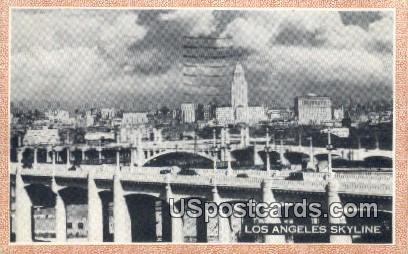 Los Angeles, California Postcard        ;       Los Angeles, CA
