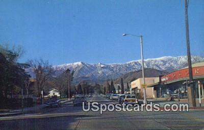 Banning, California Postcard        ;       Banning, CA