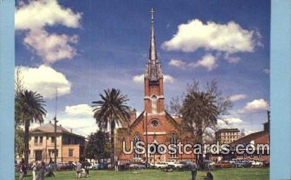 St Mary of the Assumption Catholic Church - Stockton, California CA Postcard