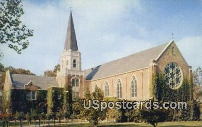 Morris Chapel - Stockton, California CA Postcard