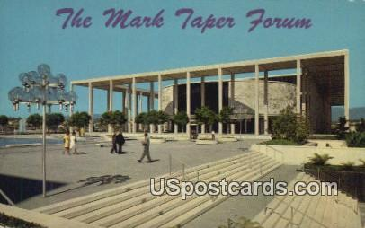 Mark Taper Forum - Los Angeles, California CA Postcard