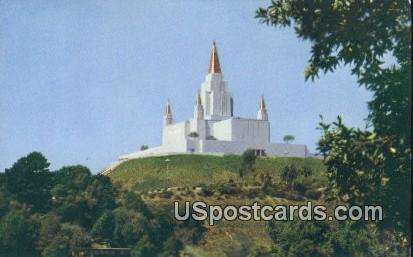 Oakland Temple - California CA Postcard