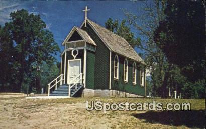 Oakhurst Community Church - Oakland, California CA Postcard