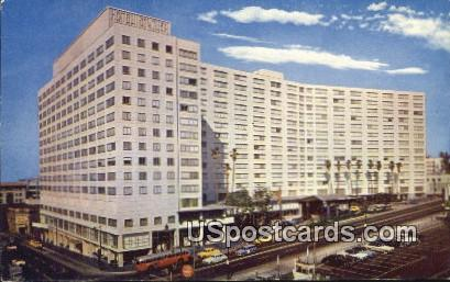 Hotel Statler - Los Angeles, California CA Postcard