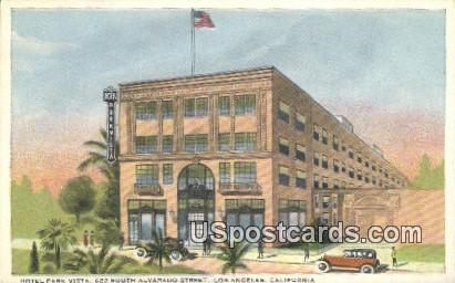 Hotel Park Vista - Los Angeles, California CA Postcard