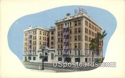 Hotel Chancellor - Los Angeles, California CA Postcard