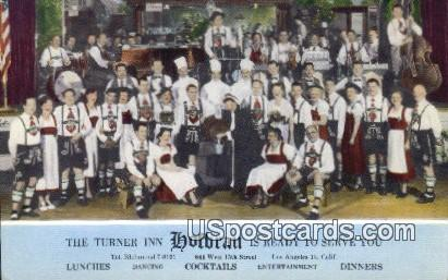 Turner Inn Hofbrau - Los Angeles, California CA Postcard