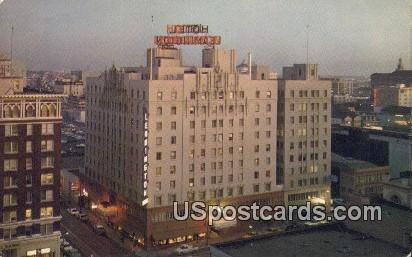 Leamington Hotel - Oakland, California CA Postcard