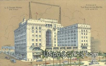 Associate, The Biltmore Hotel - Los Angeles, California CA Postcard