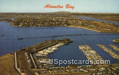Alamitos Bay, CA Postcard       ;       Alamitos Bay, California